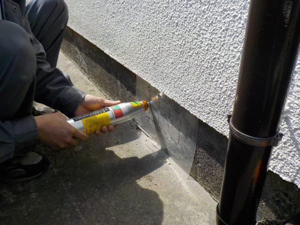 コンクリート圧縮強度調査  リバウンドハンマーによる非破壊試験