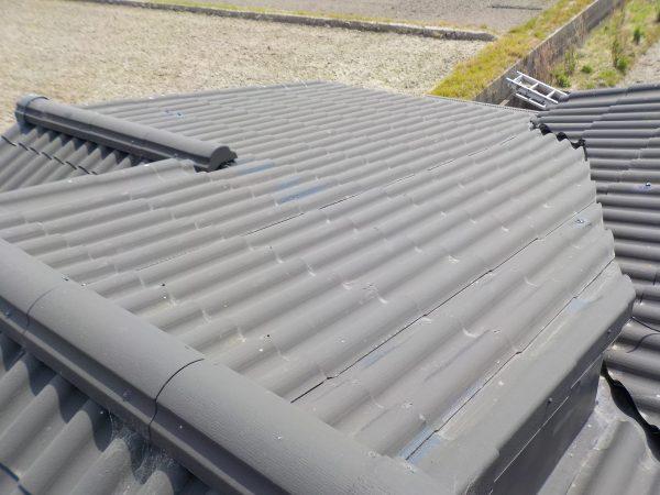 屋根の状況調査