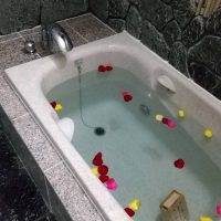 掛川市K邸岩風呂改修工事の画像1
