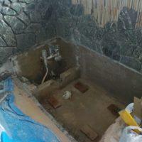 掛川市K邸岩風呂改修工事の画像2