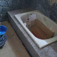 掛川市K邸岩風呂改修工事の画像3