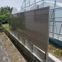 防音工事 掛川市室外機の防音壁の画像1
