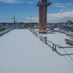屋上防水工事 浜松市中区Aマンションサムネイル